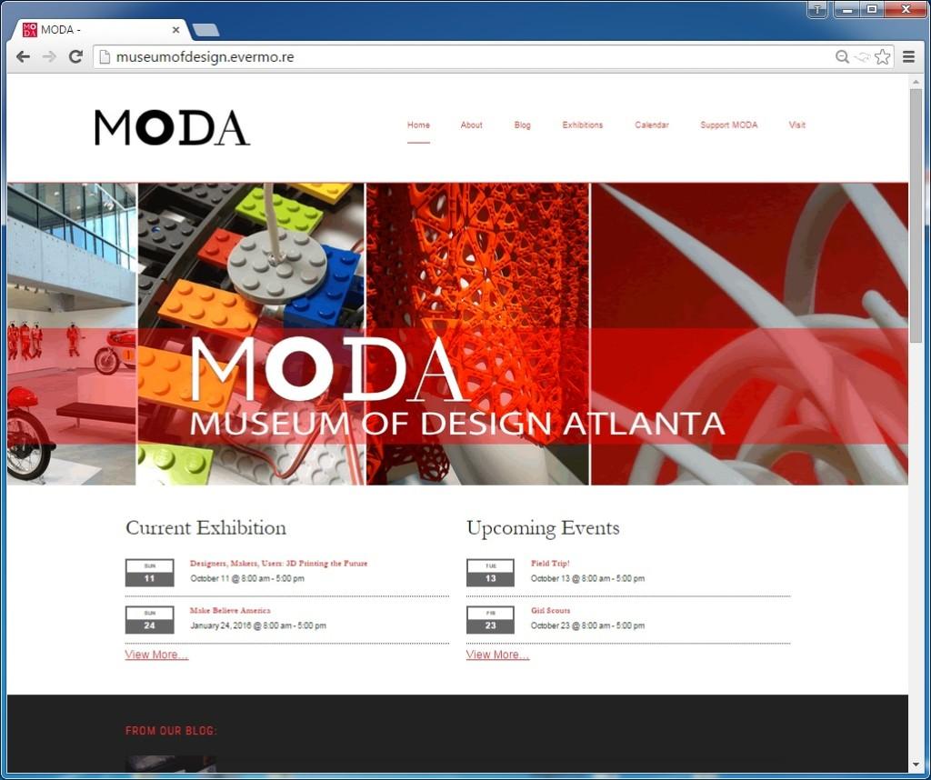 MODA Website